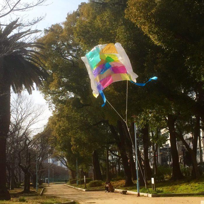 風のちから「オリジナル凧をつくろう」