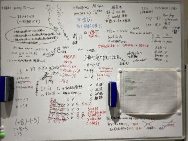 今週の学び!正負の数と括弧